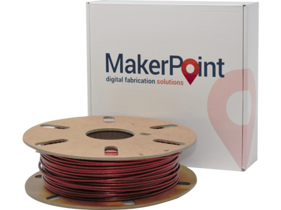 MakerPoint PLA Red Glitter 2.85mm 750g