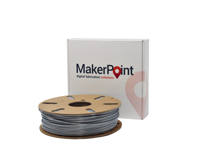 MakerPoint PLA Silver Satin 2.85mm 750g