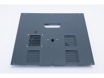 CraftBot Backplate with encoder input - Grey